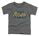 Toddler: Batman Classic TV - In Color T-shirts