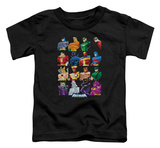 Toddler: Batman The Brave and the Bold - Cast Of Characters T-shirts
