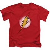 Youth: The Flash - Destroyed Flash Logo Shirts