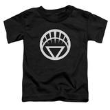 Toddler: Green Lantern - White Emblem T-shirts
