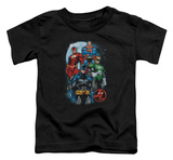 Toddler: Justice League - The Four T-shirts