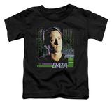 Toddler: Star Trek - Data Shirts