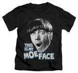 Juvenile: The Three Stooges - Moe Face Shirt