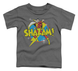 Toddler: Shazam! - Power Bolt T-shirts