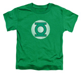 Toddler: Green Lantern - GL Logo Distressed Shirts