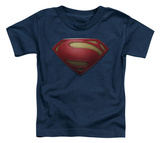 Toddler: Man Of Steel - MoS Shield T-shirts