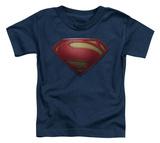 Toddler: Man Of Steel - MoS Shield T-shirts