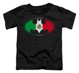 Toddler: Batman - Mexican Flag Shield T-shirts