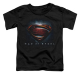 Toddler: Man Of Steel - Man Of Steel Shield T-Shirt