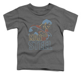 Toddler: Superman - Colored Lines T-shirts