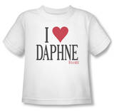 Toddler: Frasier - I Heart Daphne T-Shirt