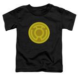 Toddler: Green Lantern - Yellow Symbol Shirts
