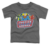 Toddler: Justice League - 8 Bit League Shirt