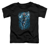 Toddler: Justice League - Black Lightning Bolts T-Shirt