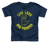 Toddler: Star Trek - Live Long Hand T-Shirt