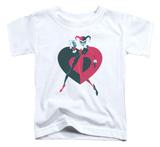 Toddler: Batman - Harely Heart T-shirts