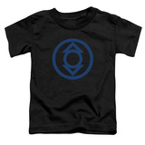 Toddler: Green Lantern - Blue Emblem T-shirts