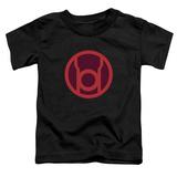 Toddler: Green Lantern - Red Symbol T-shirts