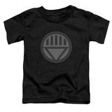 Toddler: Green Lantern - Black Symbol T-Shirt