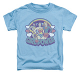 Toddler: DC Comics - Retro Girl Power Shirts