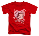 Toddler: Betty Boop - Baby Heart T-Shirt