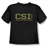 Toddler: CSI - Collage Logo Shirts