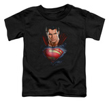 Toddler: Man Of Steel - Super Bust T-Shirt