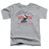 Toddler: Popeye - I Yam What I Yam T-shirts