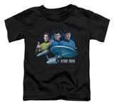 Toddler: Star Trek - Main Three T-shirts