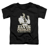 Toddler: Elvis Presley - Golden Shirts