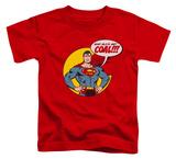 Toddler: Superman - Coal T-shirts