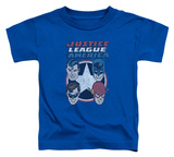 Toddler: Justice League - 4 Stars T-shirts
