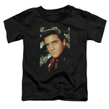 Toddler: Elvis Presley - Red Scarf Shirt