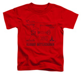 Toddler: Star Trek - D7 Diagram T-Shirt