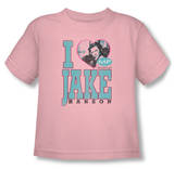 Toddler: Melrose Place - I Heart Jake Hanson Shirts