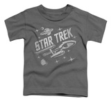 Toddler: Star Trek - Through Space Shirts