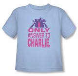 Toddler: Charlie's Angels - Answer Shirts