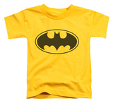 Toddler: Batman - Black Bat Shirt