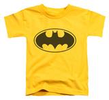 Toddler: Batman - Black Bat Shirt