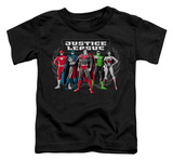 Toddler: Justice League - The Big Five T-shirts