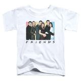 Toddler: Friends - Cast Logo T-shirts