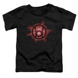 Toddler: Green Lantern - Red Glow T-Shirt