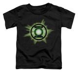 Toddler: Green Lantern - Green Glow T-shirts