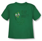 Toddler: Gumby - Clay What Vêtement