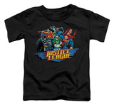 Toddler: Justice League - Ready To Fight T-Shirt