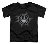 Toddler: Green Lantern - Black Glow T-shirts