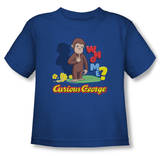 Toddler: Curious George - Who Me T-Shirt