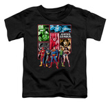 Toddler: Justice League - Justice League Panels T-Shirt