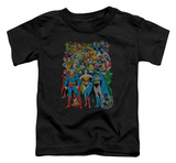 Toddler: Justice League - Original Universe Shirts