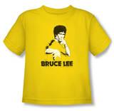Toddler: Bruce Lee - Suit Splatter T-shirts